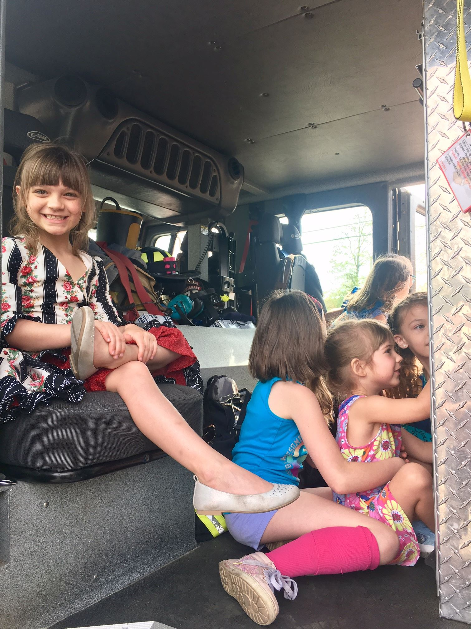 Daisy Scout Station & Apparatus Tour