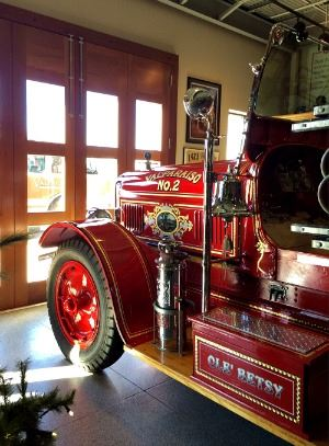 VFD Ole Betsy - Restored and On Display