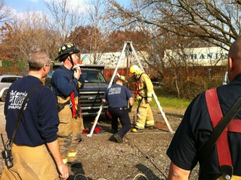 Confined Space - Rope Training